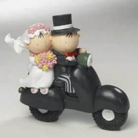 Figurine sujet gateau mariage original