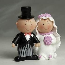 Mariage figurine gateau pas cher originale