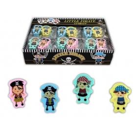 Paquet de Gomme Pirates  Cadeaux papeterie