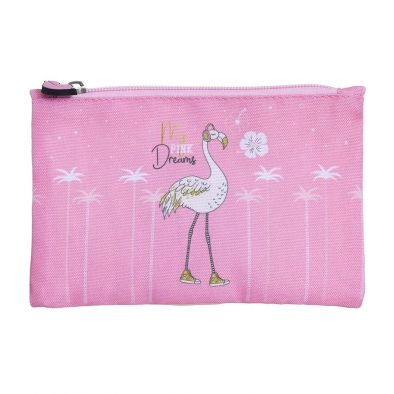 Trousse Flamant Rose