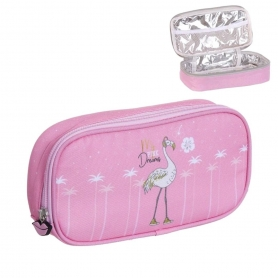 Petit Sac Thermo Flamant Rose