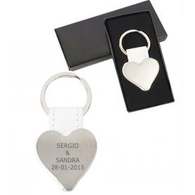 Porte-clés Coeur Gravure Laser