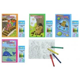 Cahier à Colorier pour les Enfants  Cadeaux papeterie Idées