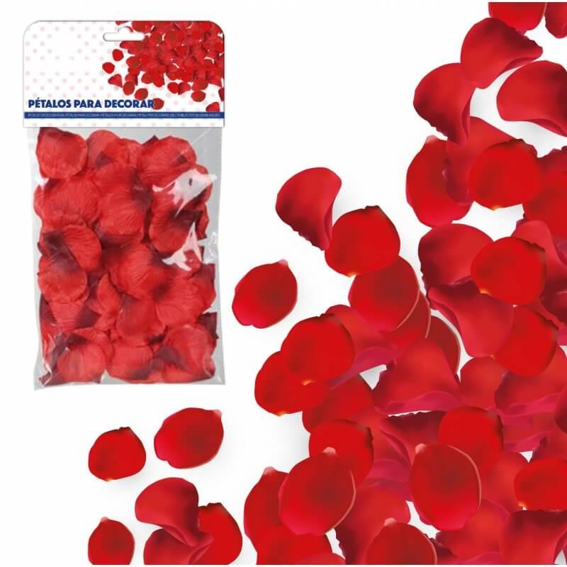Pétales Tissu Rouge