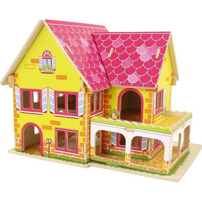 Puzzle 3D Maison  Puzzle