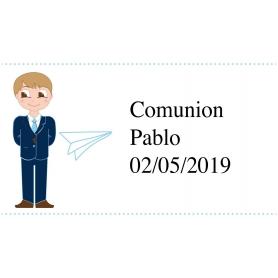 Stickers Personnalisés Communion 0.04 €