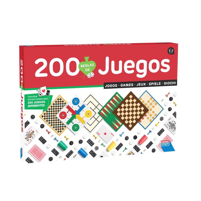 Paquet de 200 Jeux  Jeux de société