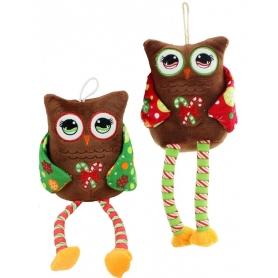 Hibou Noel  Cadeaux de Noël
