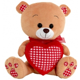 Ours Peluche Coeur