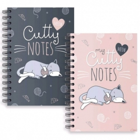 Cahier A4 Chat
