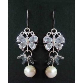 Mariage Boucle Oreilles Perle