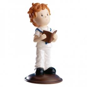 Cadeaux invites communion figurine garcon