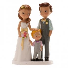 Figurine de Mariage avec Petit Garçon