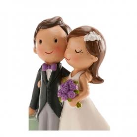 Figurine de Mariage avec Voiture
