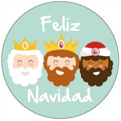 Sticker Noël rois mages