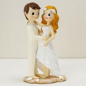 Figurine Mariage et Plage