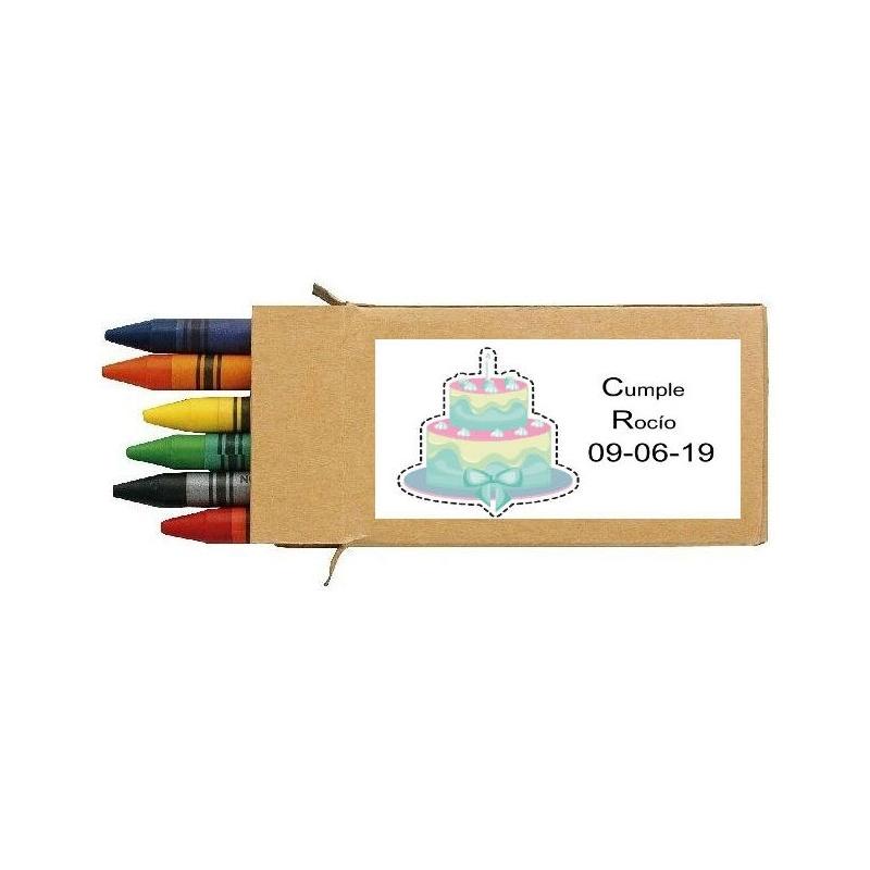 Crayons de Cire pour Anniversaire