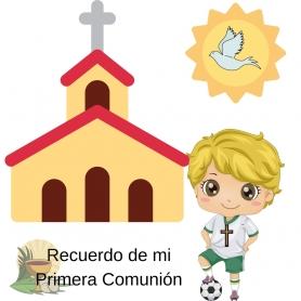 Sticker Communion Football