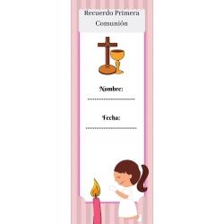 Filles de communion Marcapaginas