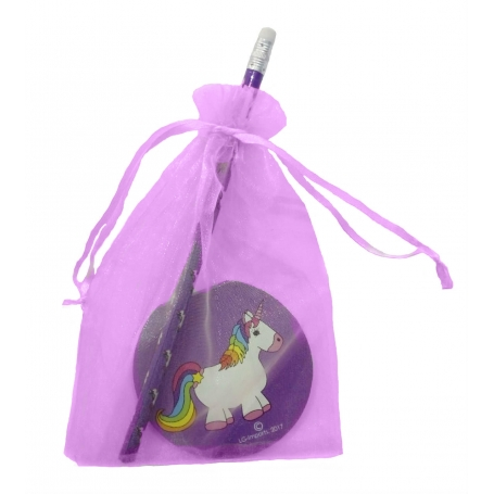 Gift Girl Unicorn Détails Papeterie Détails Enfants
