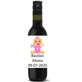 Baptême de vin personnalisé