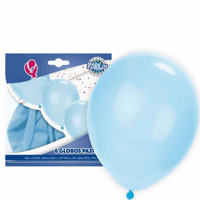 Pack ballons bleu clair Balloons Décoration Décorations de communion