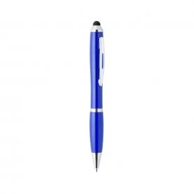 Beau stylo bleu avec pointe tactile