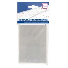 Pack de pochettes transparentes