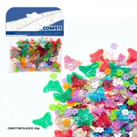 Confetti papillons et fleurs