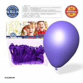Paquet de ballons violets