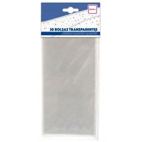 Paquet de pochettes transparente