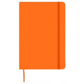 Carnet de note orange