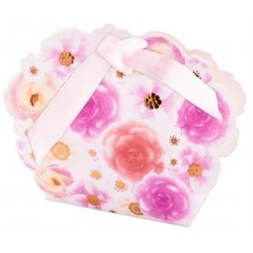Boîte motif floral