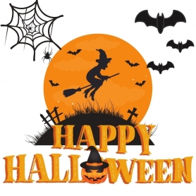 Adhésif Halloween