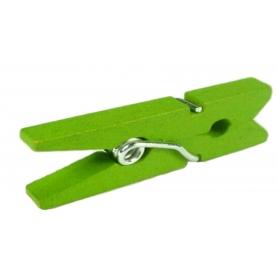 Mini pince decorative verte