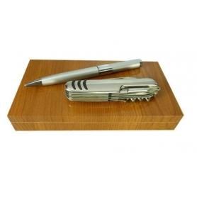 Stylo cadeau mariage avec couteau multifonction