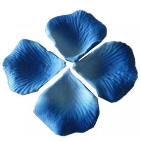 Petale bleu pour mariage