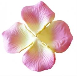 Petales de fleurs roses pour mariage