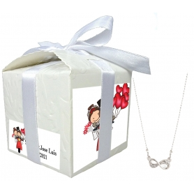 Petit bijou cadeau pour mariage