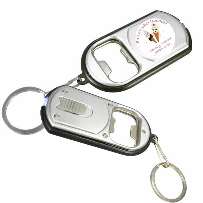 Porte-clés ouvre-mariage