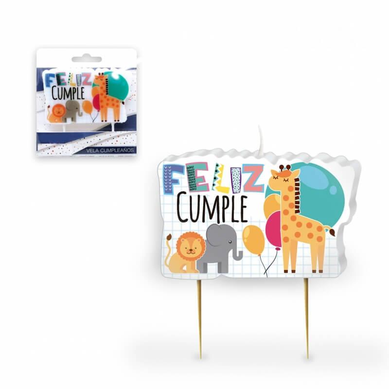 Bougies d'anniversaire animaux