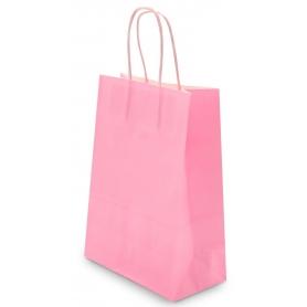 Sac en papier rose