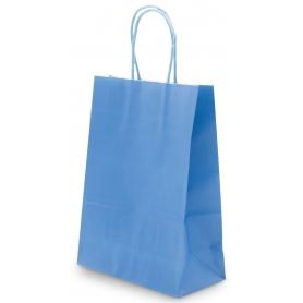 Sac en papier bleu