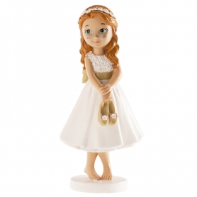 Figure de fille de communion