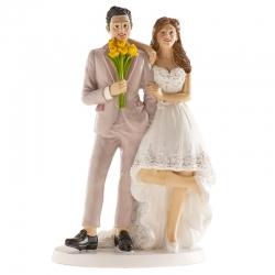 Figure de gâteau de mariage