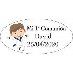 Sticker garçon communion