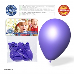 Pack ballon lilas