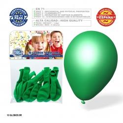 Pack ballon vert lime