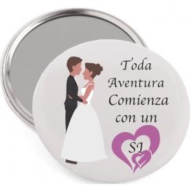 Miroir pour un mariage