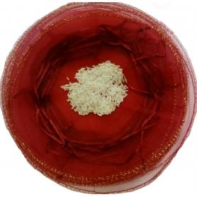 Sachet organza pas cher riz mariage
